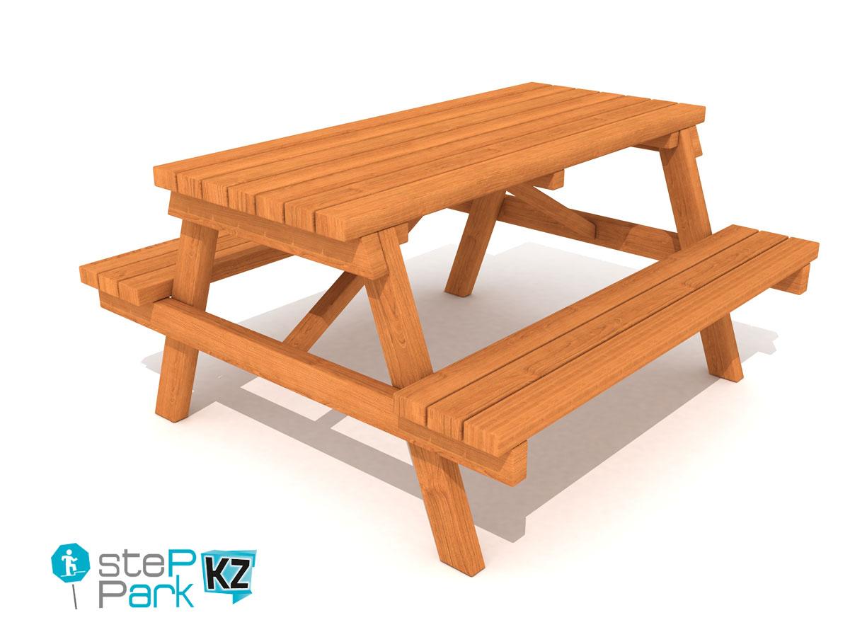 picnic table Стол для пикника