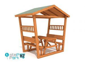 Стол для пикника (крыша) picnic table