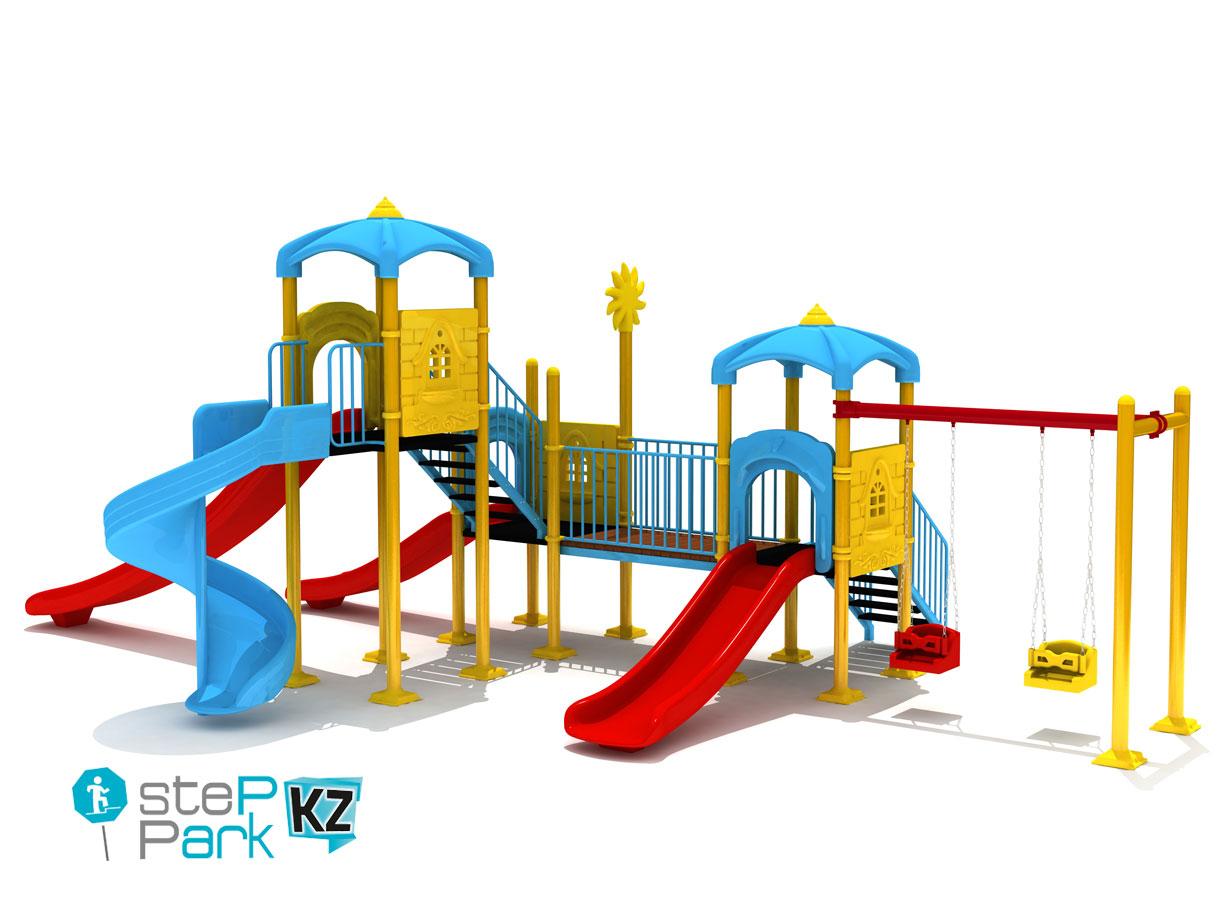 Металлические детские игровые комплексы
