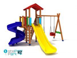Деревянные детские игровые комплексы