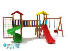 Детская площадка Spielplatz Две башни