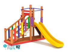 Деревянные детские игровые комплексы Climbing Playground