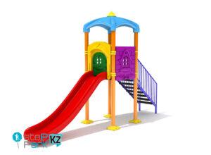 Металлическая детская игровая площадка